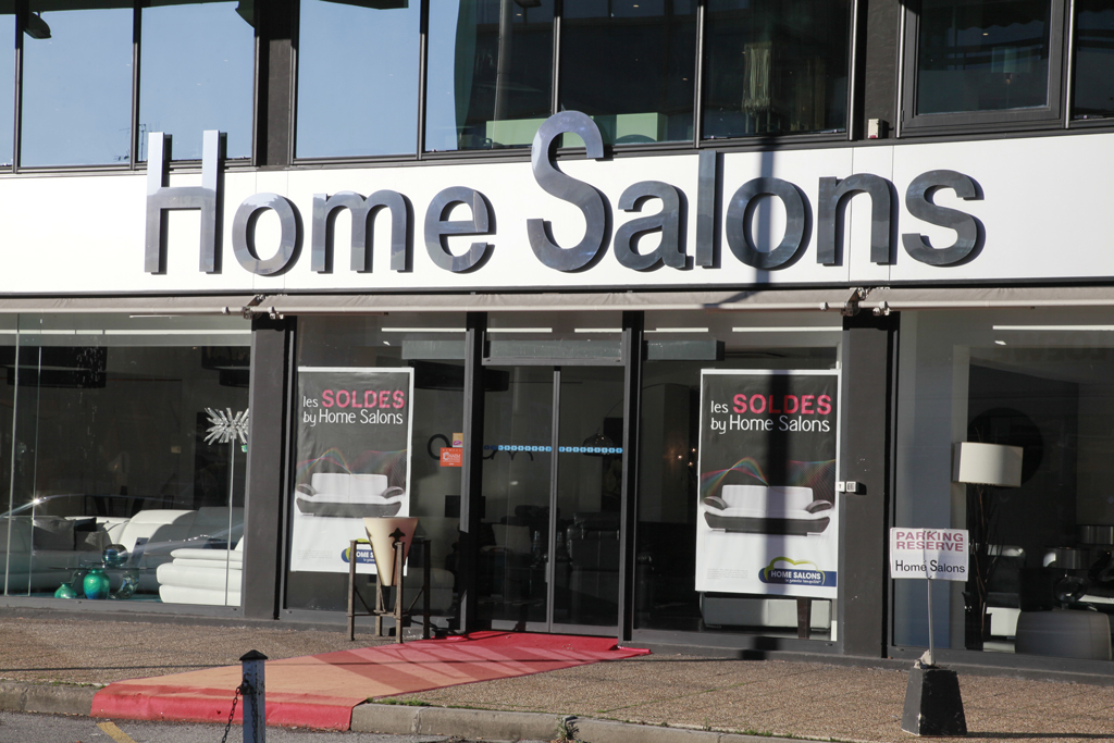 Media enseignes caissons - Home salons villeneuve loubet ...